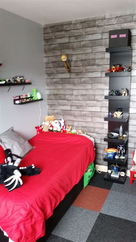 Minecraft Bedroom Drawers by Minecraft Bedroom Using Ikea Furniture In Black
