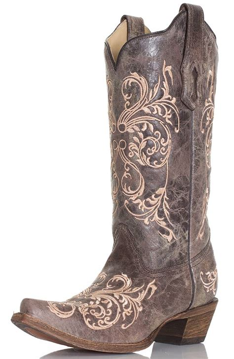womens corral boots size 9 corral womens dahlia embroidered boots beige