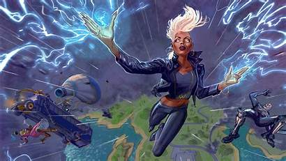 Fortnite 4k Cool Chapter Storm Games Wallpapers