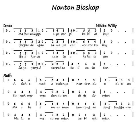 lagu pileuleuyan beserta not angka not angka not piano not pianika not balok note angka piano