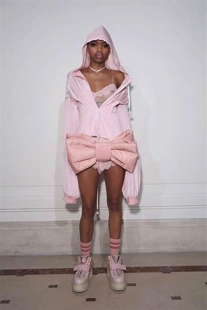 Puma Rihanna Woods Slick Fenty Feminine Athleisure