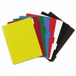 avery 8 tab multicolor plastic index tab dividers 1 set With avery 3 ring binder dividers