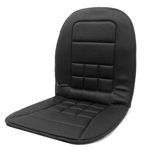 Heated Pads For Chairs by Wagan In9738 Black 12 Volt Heated Seat Cushion Air Intake