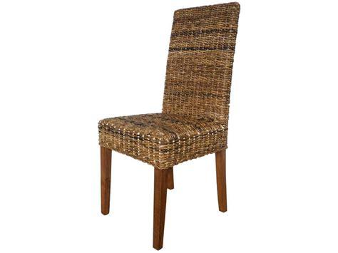 chaise rotin conforama lot de 2 chaises en rotin abaca vente de chaise conforama