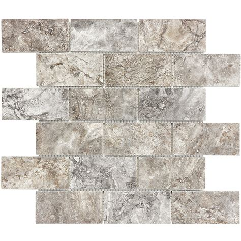 casa antica travertine tile ceramic tiles cross cut 2 quot x4 quot brick mosaic