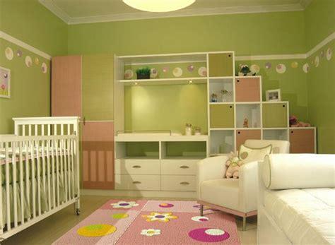 Dormitorio De Bebe En Verde Manzana