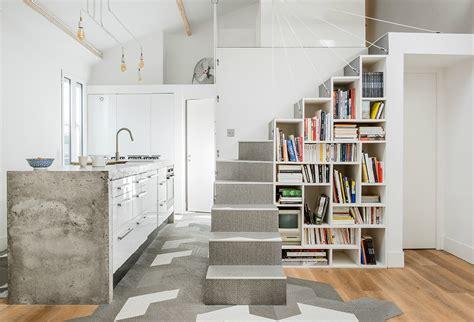 L'escalier, L'élément Central De La Maison  Architectes Lyon