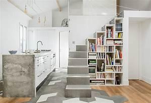 Bibliothèque Escalier Ikea : l 39 escalier l 39 l ment central de la maison architectes lyon ~ Teatrodelosmanantiales.com Idées de Décoration
