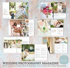 Photography marketing set lg026 paper lark designs for Wedding photography magazine template