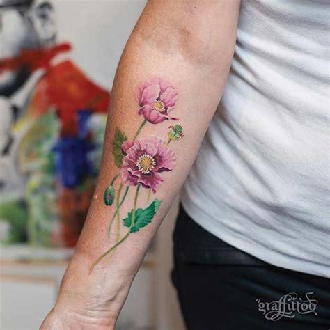 27 Breathtaking Watercolor Flower Tattoos Stayglam
