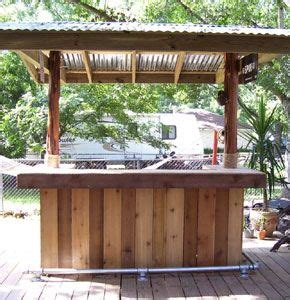 Make A Tiki Bar by Build Your Own Tiki Bar Outside Projects