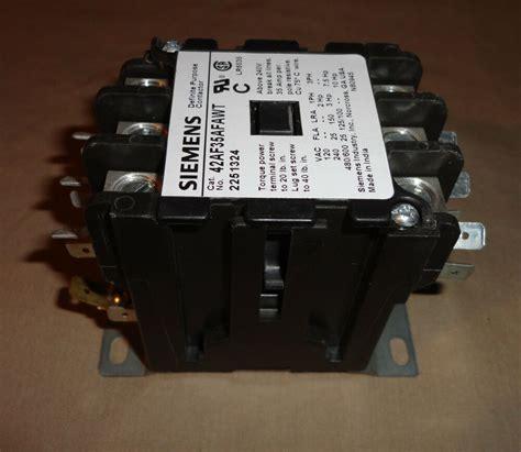 siemens afafawt electric motor contactor starter p  coil   ebay