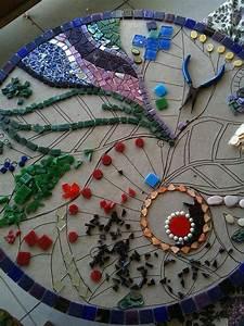 Mosaik Selber Machen : die besten 17 ideen zu mosaiktische auf pinterest mosaik mosaikfliesen und mosaik ~ Orissabook.com Haus und Dekorationen