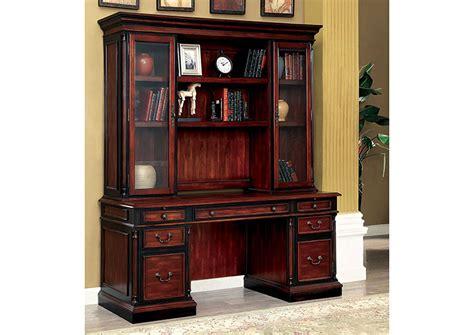 Credenza Desk - furniture liquidators baton la strandburg cherry
