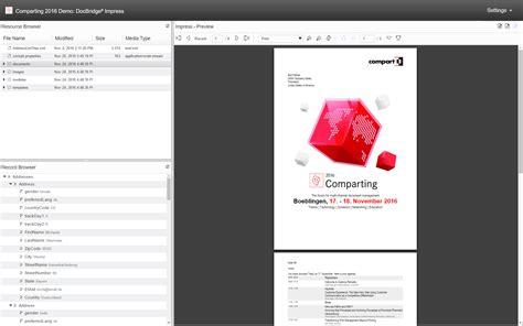 docbridge impress document design compart
