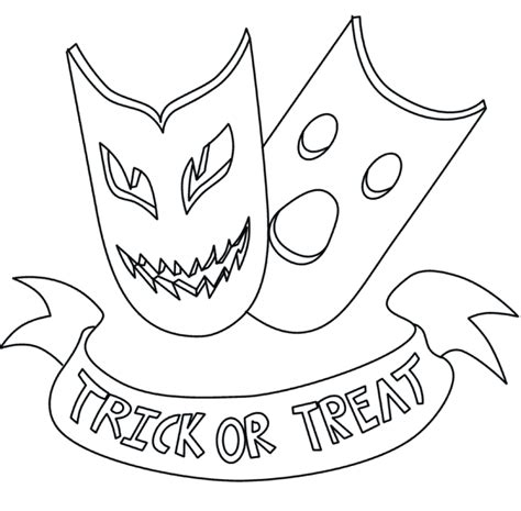 Free Scary Halloween Coloring Pages, Printable Scary