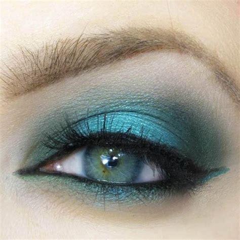 amazing teal eye makeup ideas pretty designs