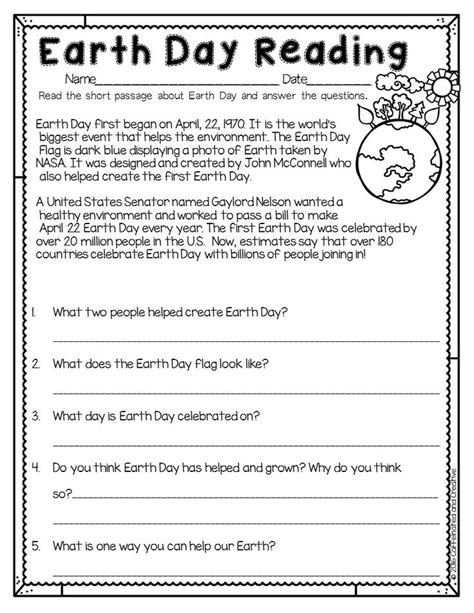 earth day worksheets second grade 244 best images about earth day on