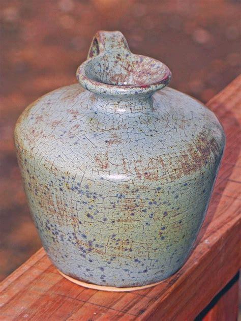 amaco ceramics bottle vase with amaco s frosted turquoise