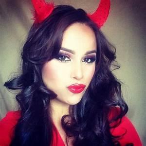 Makeup Ideas For Female Devil | Saubhaya Makeup