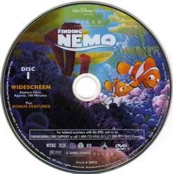 Finding Nemo DVD Disc 1