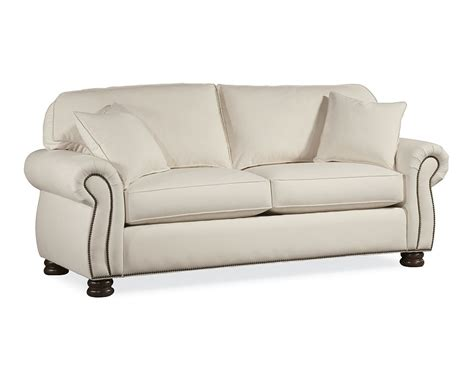 thomasville leather sofa benjamin thomasville benjamin 2 seat sofa hereo sofa