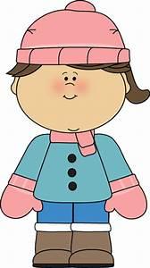 Children Winter Clipart - ClipartXtras