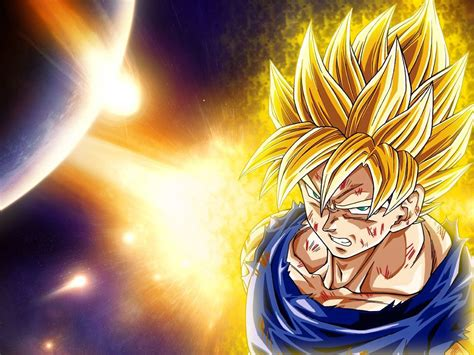 super saiyan goku wallpaper gallery
