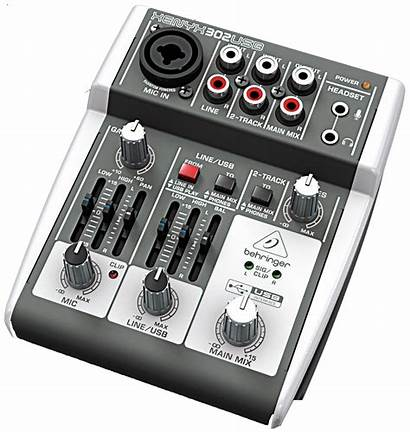 Usb Input Mic Mixer Audio Preamp Interface