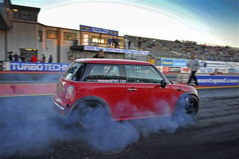 Mini Drag Car by The Mini That Is Quicker That The World S Fastest Bugatti