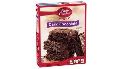 betty crocker dark chocolate brownie mix bettycrockercom
