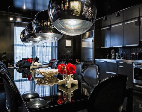 classy gothic kitchen  dining room designs