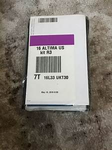 2016 Nissan Altima Sedan Owners Manual With Case New Oem