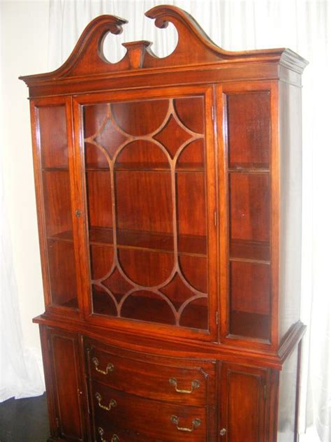 Vintage Bernhardt China Cabinet by Antique Bernhardt China Cabinet Marva S Placemarva S Place