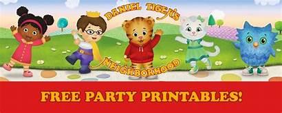 Tiger Daniel Printables Birthday Party Printable Happy