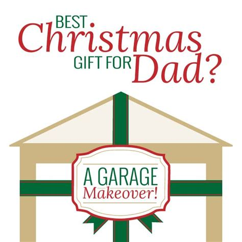 best christmas gift for dads a garage makeover bench