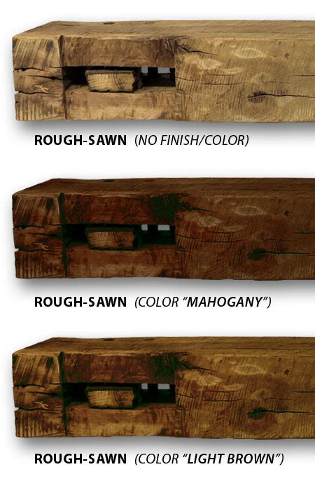 rough sawn fireplace manels   recycle barn beams
