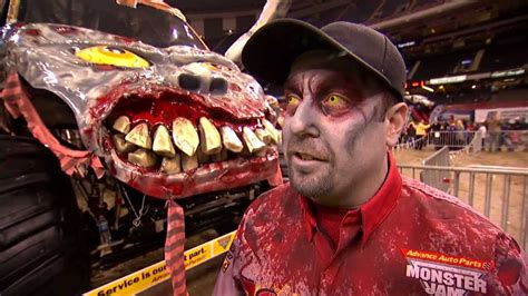 monster jam zombie freestyle   orleans feb
