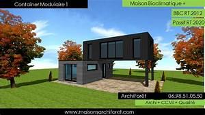 impressionnant plan de maison sur pilotis 3 maison toit With plan maison avec patio 11 maison toit plat et toiture terrasse bac acier ou siplast