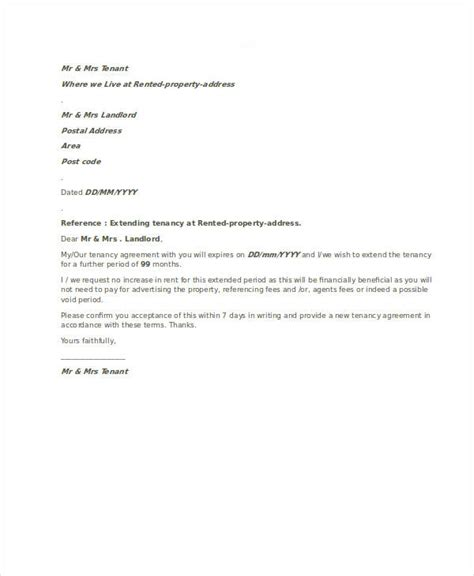 agreement letter business template