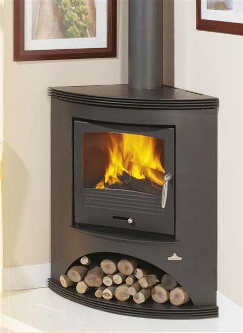 corner log burner