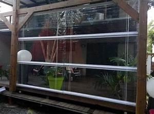 store pvc transparent sur mesure pour terrasse With store pvc sur mesure