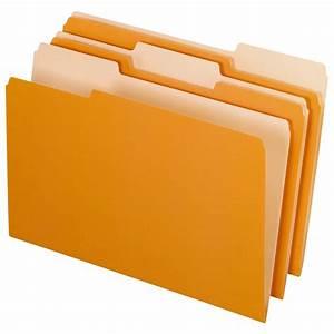 Pendaflex Interior File Folders, Legal size, Orange  File
