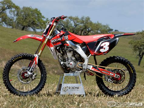 rocket exhaust honda crfr project bike