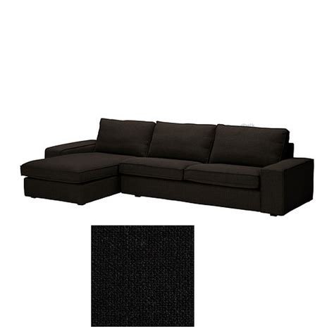 Black Sofa Covers Australia by Ikea Kivik 3 Seat Sofa W Chaise Longue Slipcover Cover