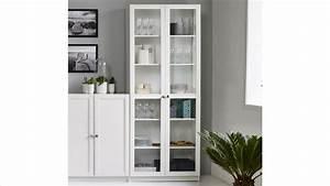 Regal Weiß Hoch : regal anette vitrine in wei hoch breit 80cm breit ~ Indierocktalk.com Haus und Dekorationen