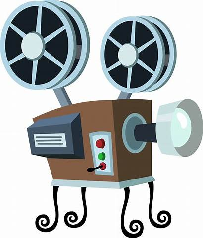Projector Movie Clipart Transparent Clip Cartoon Cine