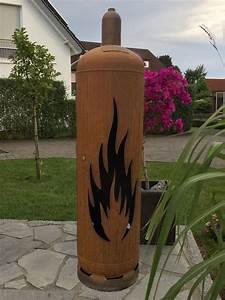 Gasflasche Als Feuerstelle : feuertonne flamme 1 metal pinterest feuertonnen feuer und metall ~ Whattoseeinmadrid.com Haus und Dekorationen