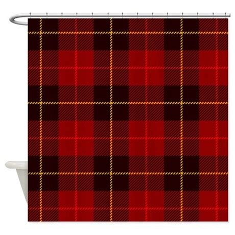 Tartan Plaid Drapes - tartan plaid shower curtain by bestshowercurtains