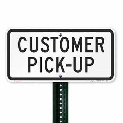 Customer Pick Zone Loading 2911 Parking